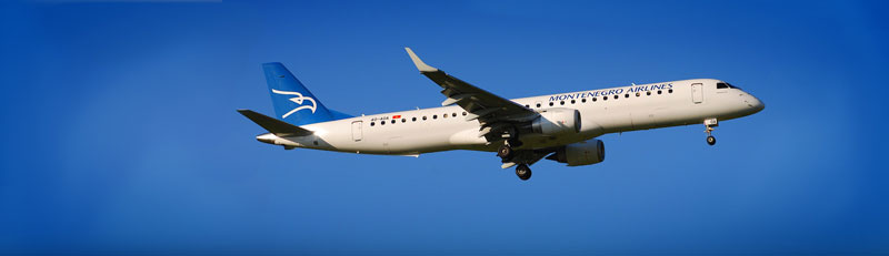 Montenegro Airlines Flights